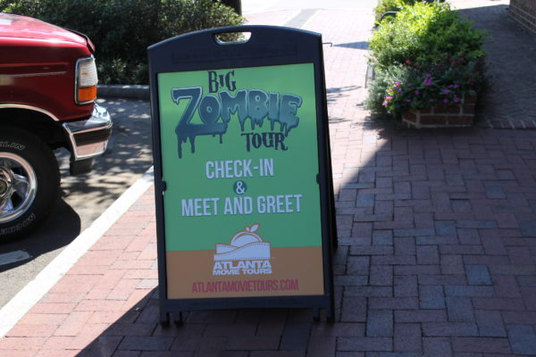 The Big Zombie Tour #2 with Atlanta Movie Tours