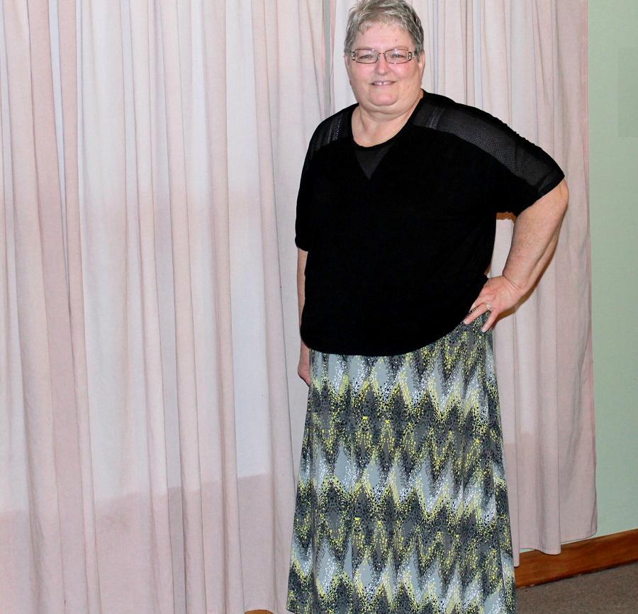 A LuLaRoe Maxi Skirt