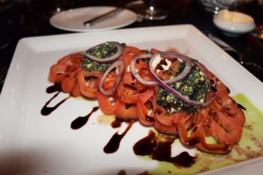 Tomato Mozzarella Basil Pesto Salad