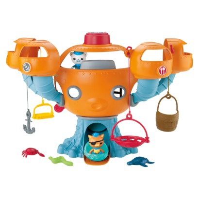 Front view of the Octopod