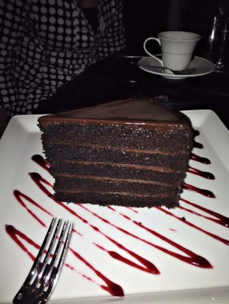 Chicago Steakhouse Chocolate Cake