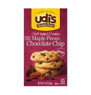 Udi's Gluten Free Maple Chocolate Chip Cookies
