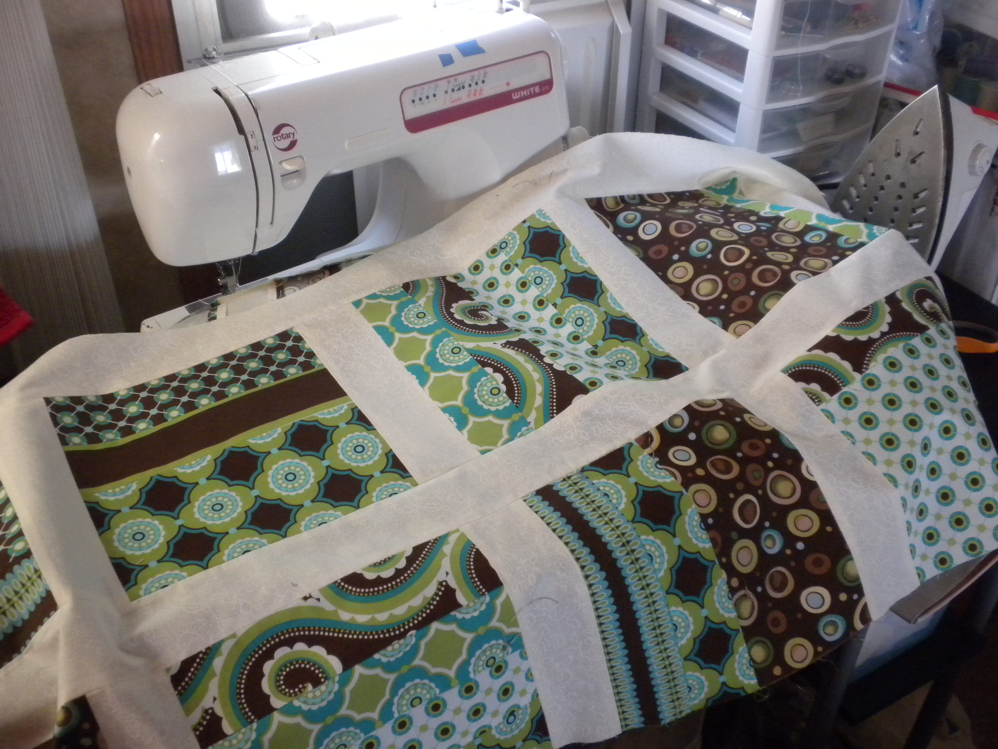 Almost Finished With MY Quilt