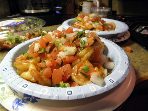 Shrimp Stuffed Avocados - FabGrandma