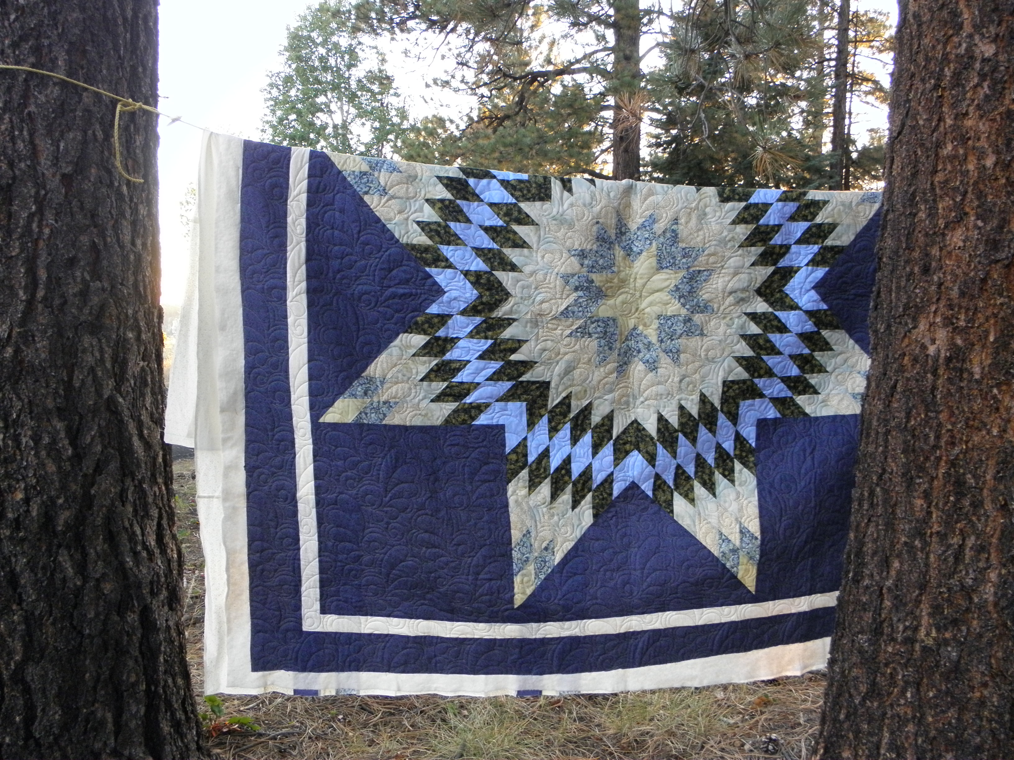 OOOO, Two Lovely Quilts Back From the Quilter