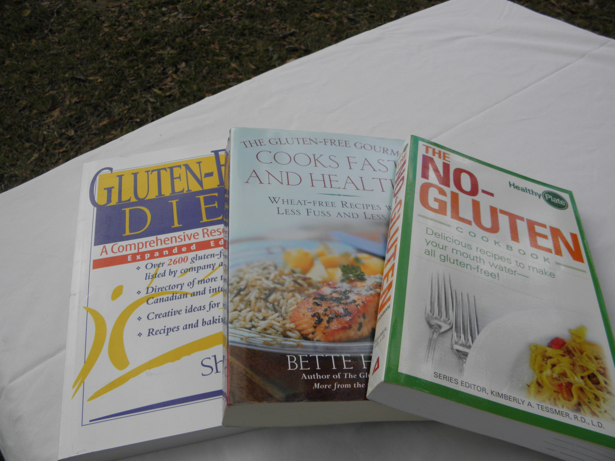 10 For 10 Auction: Lot of 3 Gluten Free Cookbooks