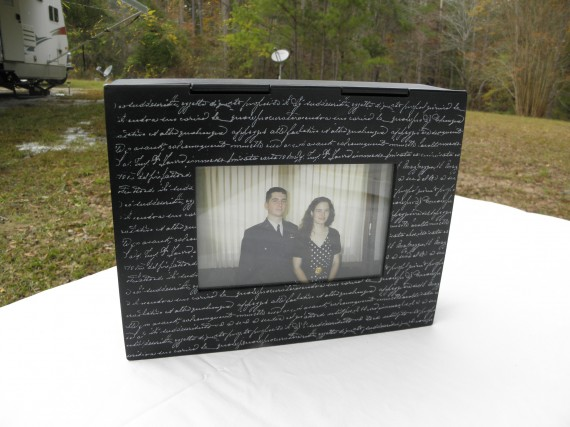 photo box, photo storage box,