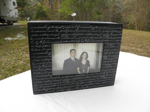 photo box, photo storage box,