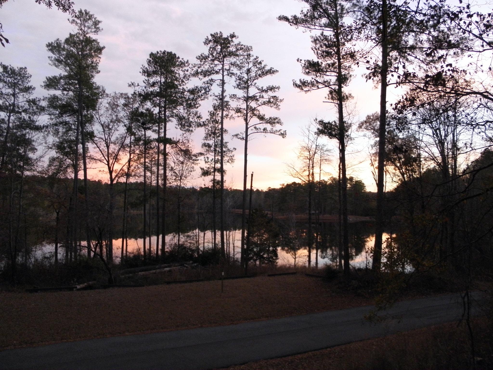 Payne Lake In Winter