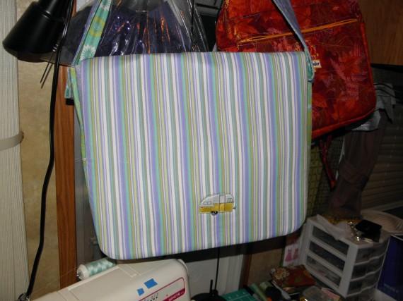 quilted messenger bag, hand made messenger bag