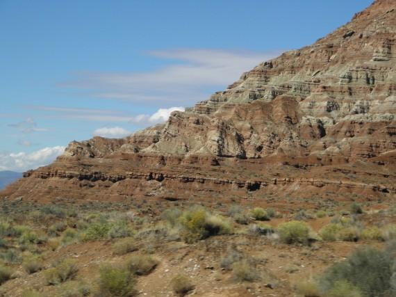 the Utah desert