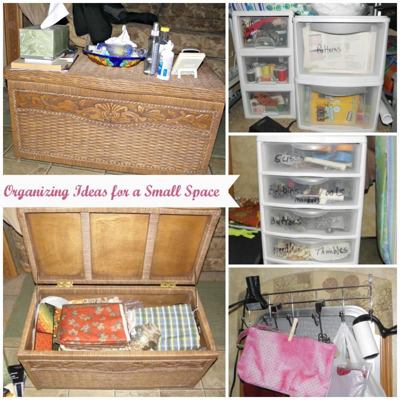 Getting Organized In A Small Space - FabGrandma