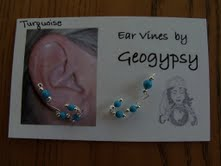 12 For 10 Auction: Sterling & Turquoise Earvines