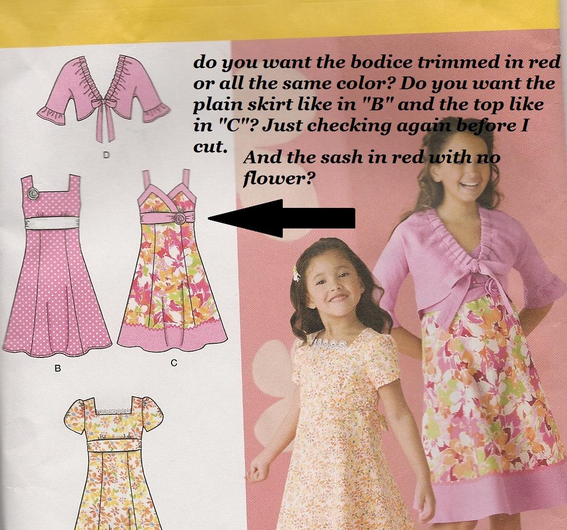 Making A Flower Girl Dress Fabgrandma