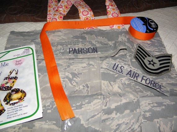 military uniform purse
