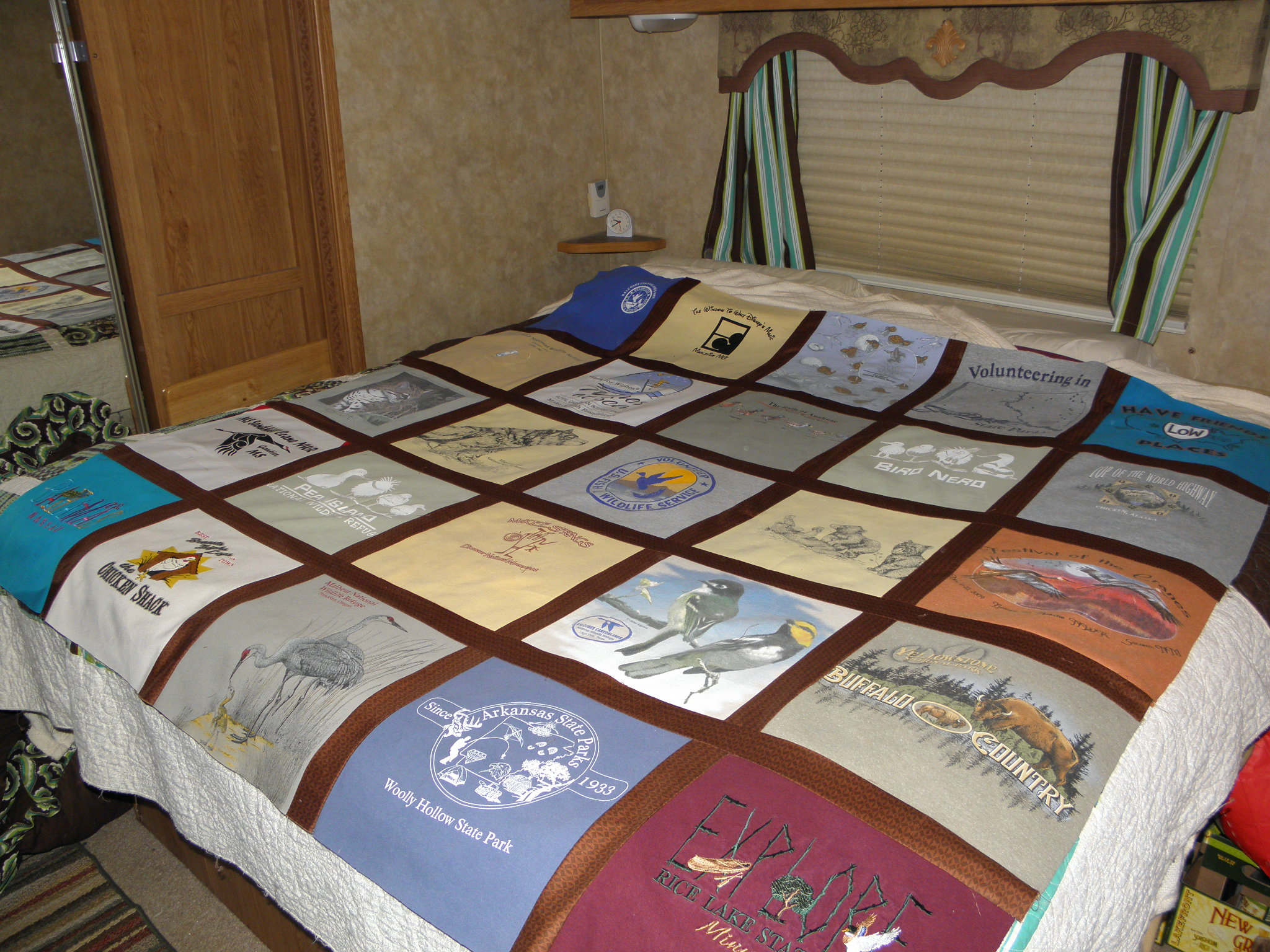 Faith in Fear: T-Shirt Quilt {Introduction} : interfacing for t shirt quilts - Adamdwight.com