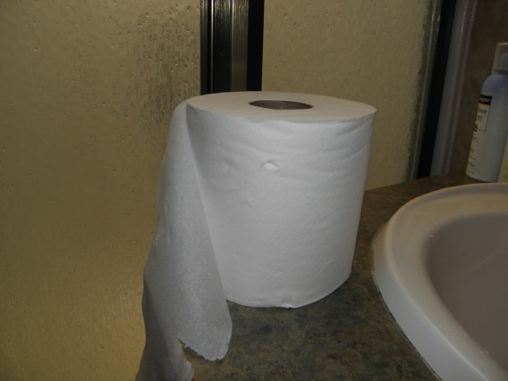 allergic to toilet paper