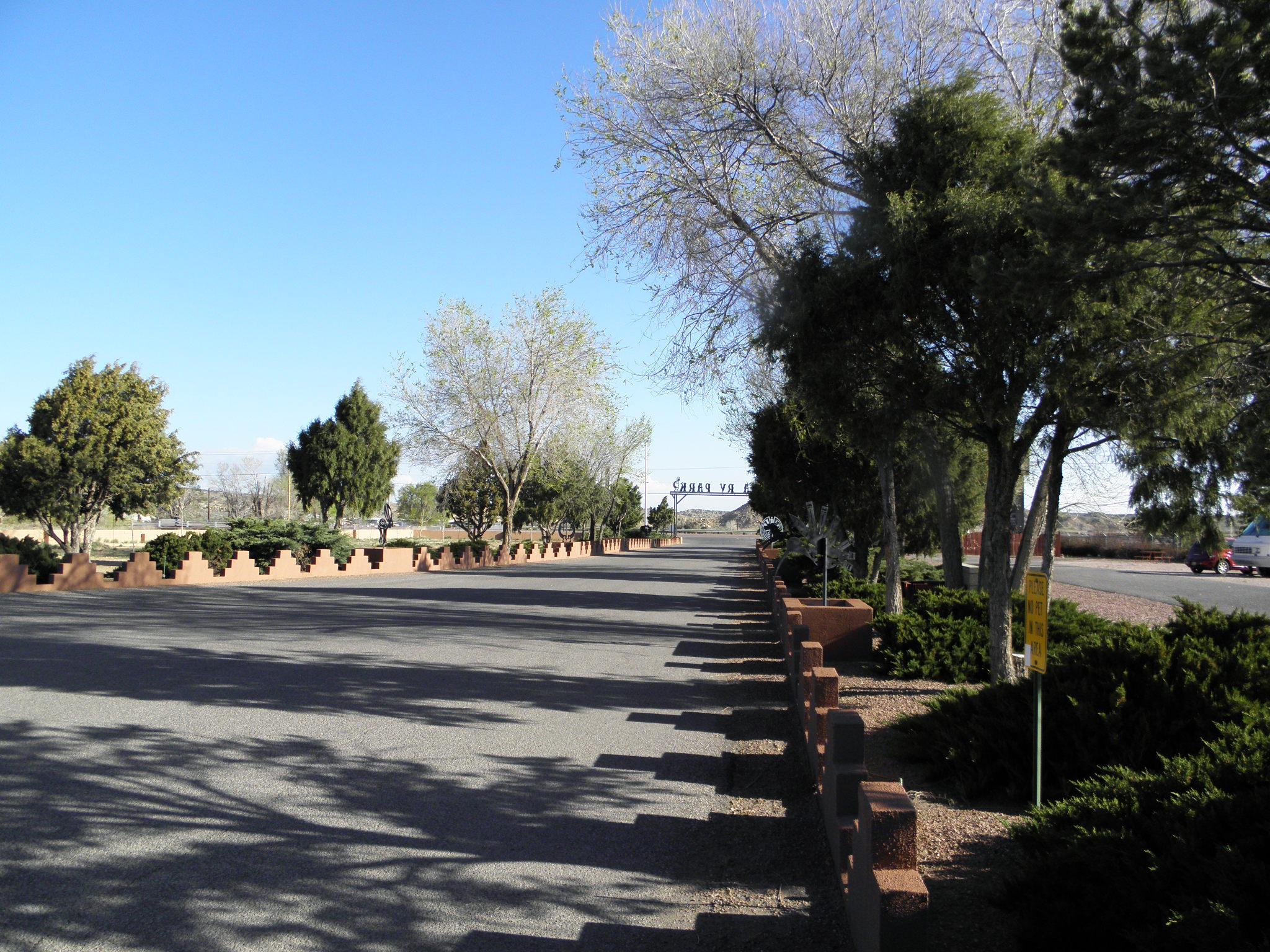 USA RV Park in Gallup, New Mexico