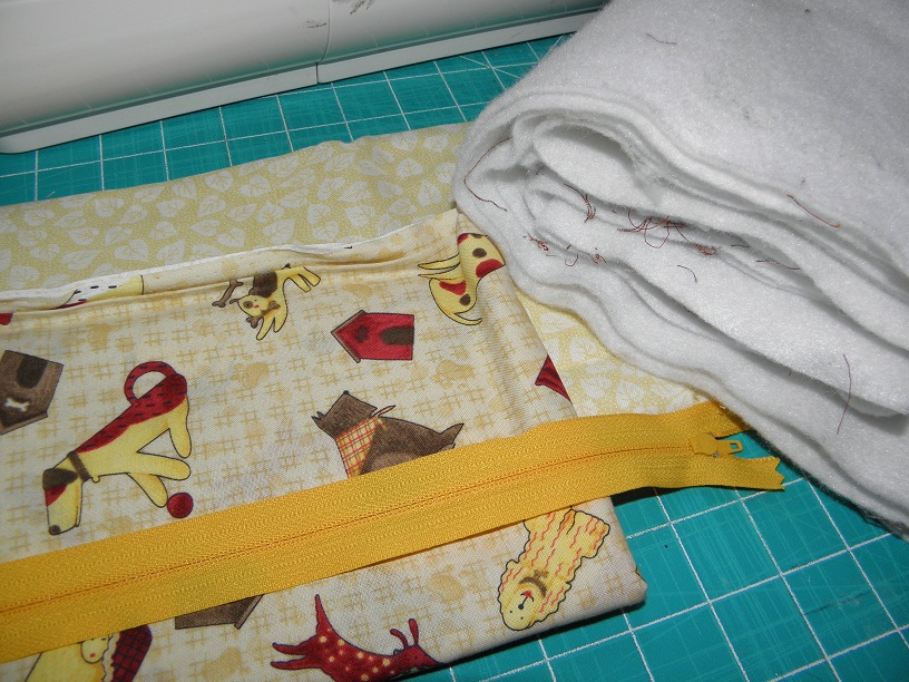 Tutorial: Make A Zippered Cosmetic Bag