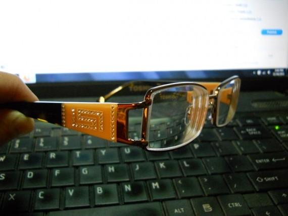 Vercace eyeglass frames