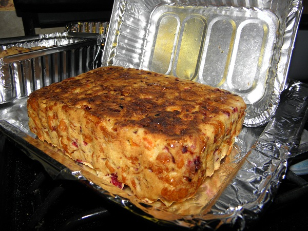Gluten Free Cranberry Tangerine Quick Bread Recipe