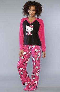 hello kittie pajamas