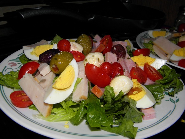 chef salad with a twist