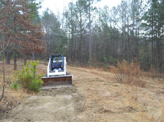 grading the driveway, driveway repairs
