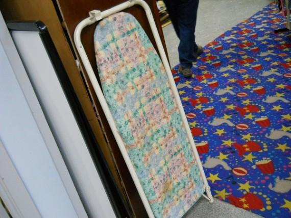 ironing board,