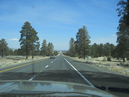 Hwy 89 north of Flagstaff