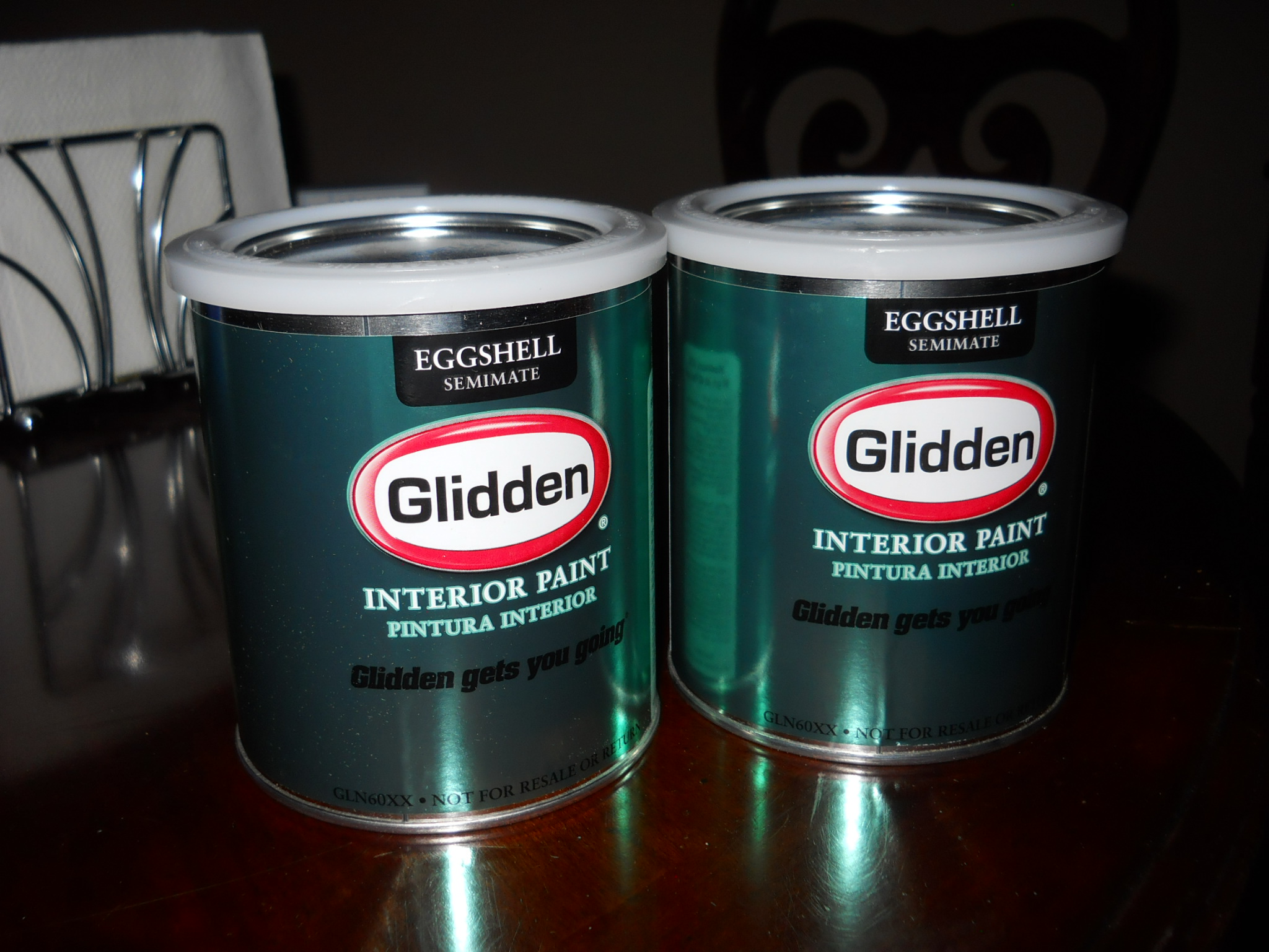 Redoing The Office/Sewing Room With Glidden Paint