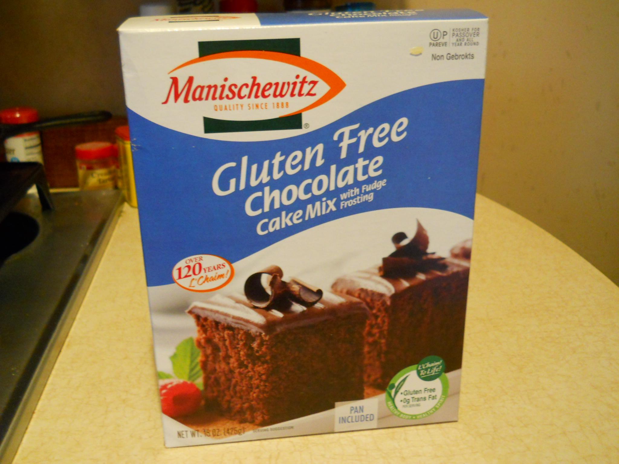 Manischewitz Gluten Free Chocolate Cake Mix Review