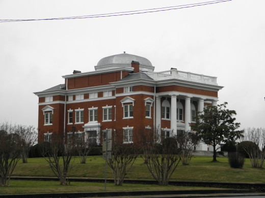 Courthouse in Chatsworth, Georgia