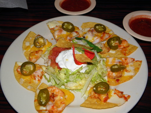These nachos were pretty as well as tasty!
