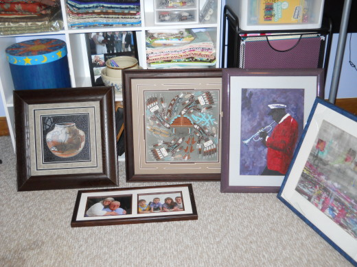 Some of our art collection