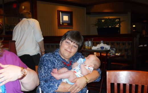 Great Aunt Linda with Parker
