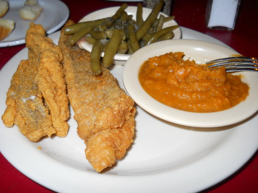 My catfish platter