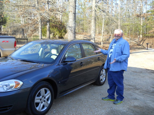 Fabgrandpa with the new car.