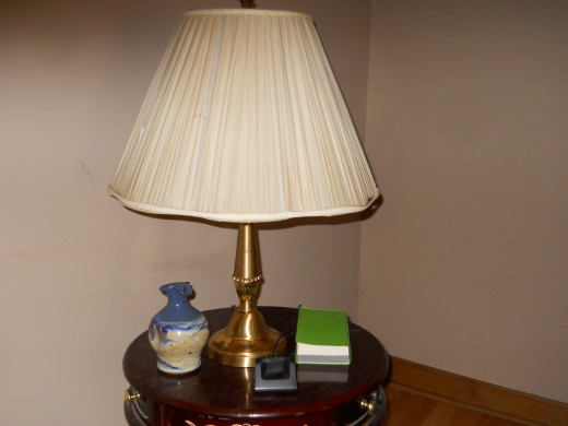 My new brass lamp