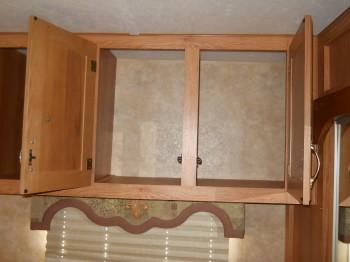 18 cabinet over the dresser