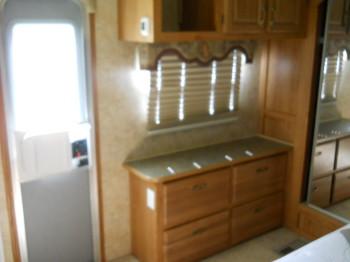 19 cabinet and dresser in bedroom