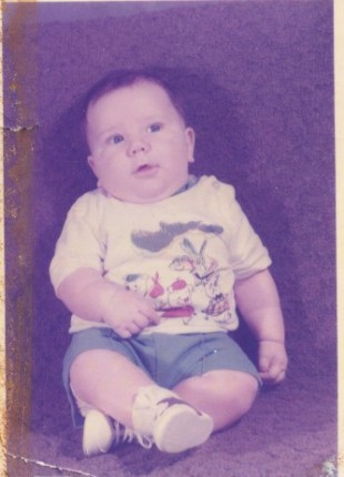 My son Seth at 3 months old