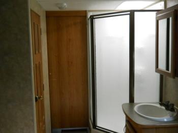 28 door to living area closed