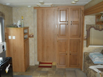 29 living area with pocket door closed