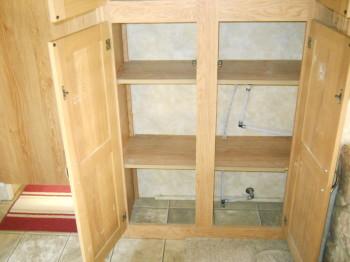 46 bottom pantry open