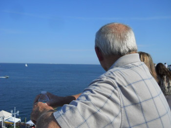 Fabgrandpa taking in the view