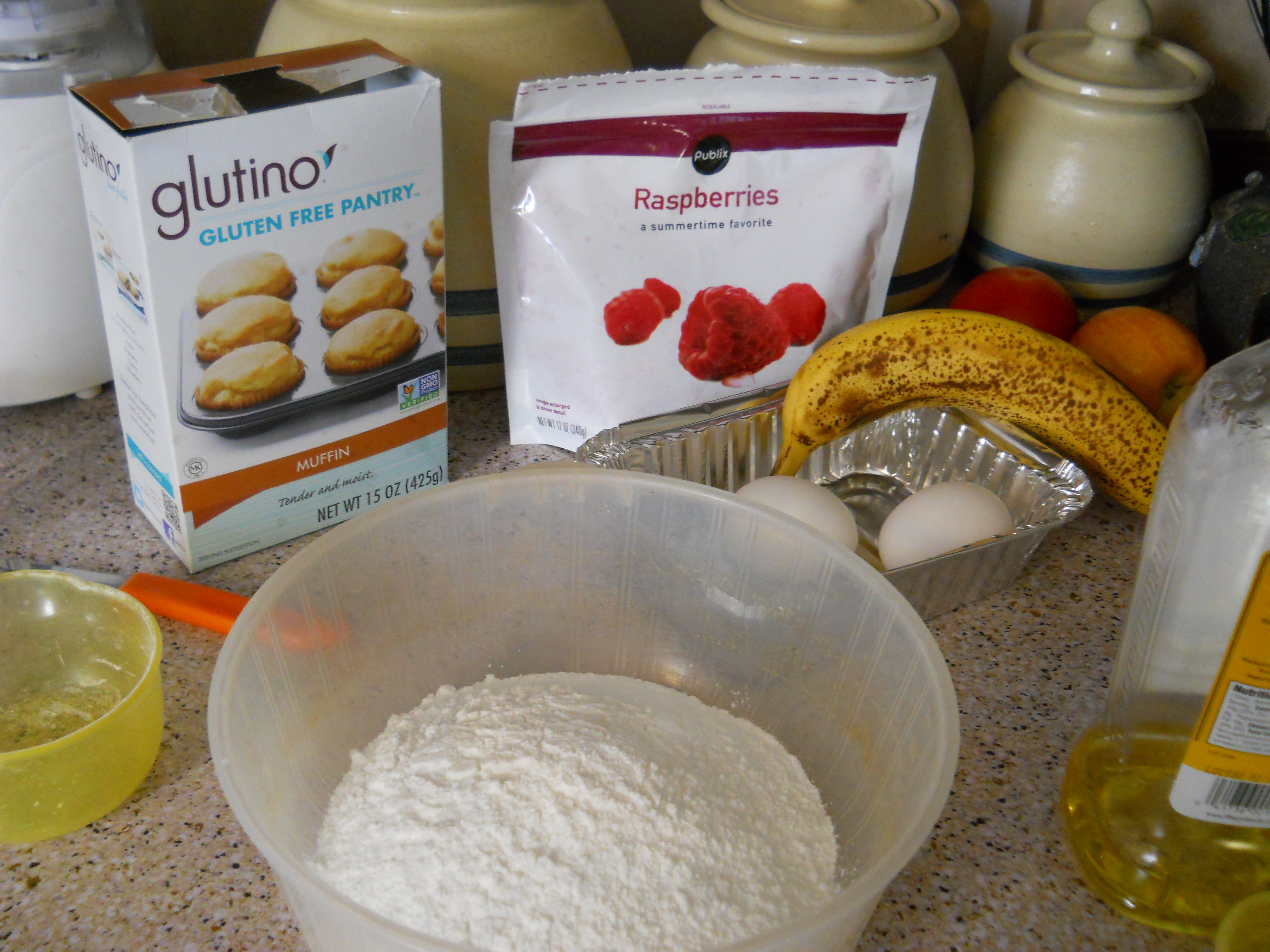 Glutino Gluten Free Toaster Pastries and Muffin Mix Review