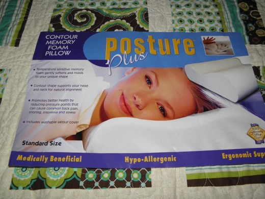 posture plus contour pillow giveaway