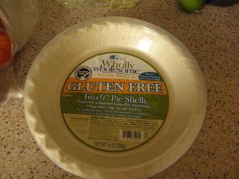 Wholesome Gluten Free pie crust