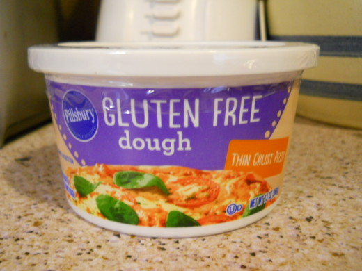 pillsbury refrigerated gluten free pizza crust dough